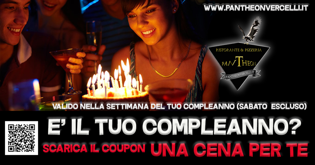 COUPON buon compleanno