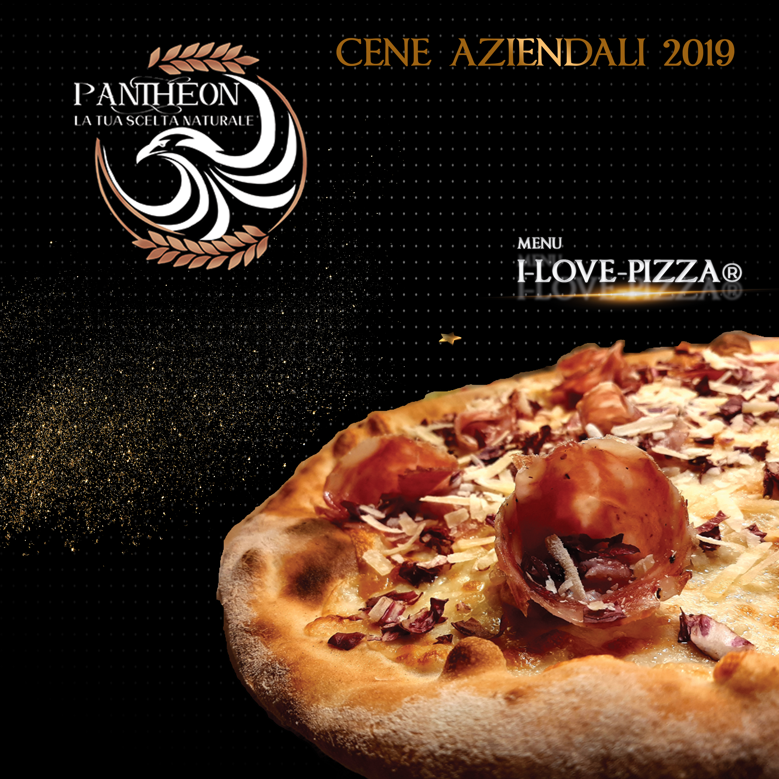 menu i love pizza